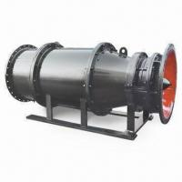 China QGL Submersible Tubular Type Axial-flow Pump, Ideal for Hydraulic and Flood Control on sale