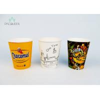 Buy cheap Food Safe Ink Printed Single Wall Coffee Cups , Personalized Paper Cups from wholesalers