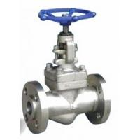 Flanged End Forged Steel Valves , OS & Y Type Bolted Bonnet Globe Valve