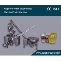 Automatic Pre-made Doy Bag Packing Machine Production Line with Auger Filler Manufactures