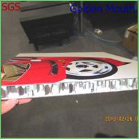 Wholesale Display Road Sign UV Flatbed Printing On Metal /  Acrylic / Aluminum from china suppliers