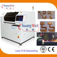 10W US Laser PCB Cutter Machine / Depaneling Machine With 460 * 460mm Working Area Manufactures