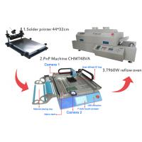 Buy cheap Small SMT Assembly Line Surface Mount Technology Machine T60w Reflow Oven from wholesalers