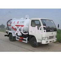 Buy cheap High Efficient Special Purpose Vehicles , Sewage Pump Truck For City Environment Protection from wholesalers
