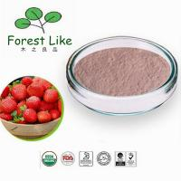 Food Ingredients Freeze Dried Strawberry Fruit Powder Manufactures