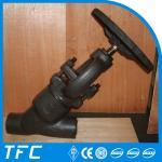 Buy cheap API 602 pressure seal Y type globe valve y-strainer from wholesalers