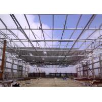Buy cheap Mordern Design Structural Steel Pipe , Customised  Structural Steel Roof Framing from wholesalers