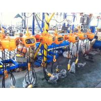 Buy cheap Chinese Model Of 10T 20T 5 Ton Chain Hoist For Industry And Workshop from wholesalers
