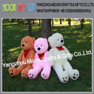 Buy cheap Promotional giant teddy bear big teddy bear bear plush 100cm to 220cm tall from wholesalers