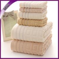 Buy cheap 100% cotton towel with jacquard border from wholesalers