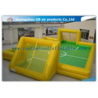Buy cheap Custom Soccer Outdoor Inflatable Sports Games /  Inflatable Football Field from wholesalers