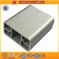 China Silver Bronze Champange Anodized Aluminum Door Frame Profiles Corrosion Resistant on sale