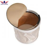 Buy cheap Collapsible Bucket Water Storage Container Barrel with Lid Folding Wash Basin from wholesalers