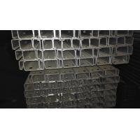 Wholesale Hot Rolled Stainless Steel Welded Pipe , Rectangular Square Din 2444 Galvanized Steel Pipe from china suppliers