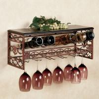 Buy cheap Metal Wine and Stemware Wall Rack from wholesalers