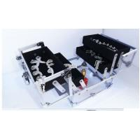 Wholesale Acrylic Cosmetic Case Vanity Makeup Organizer Aluminum Frame With Metal Lock from china suppliers