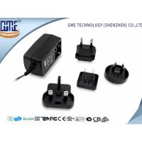 Wholesale 60950 60065 61558 Standard Black 9V 1A Universal AC DC Adapters from china suppliers