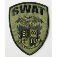 Buy cheap Custom logo patch sew on embroidery patches from quality factory from wholesalers