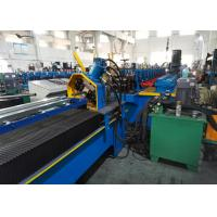 Buy cheap Diagonal Bracing Section Roll Forming Machine; Warehouse Rack C Bracing Rollformer from wholesalers