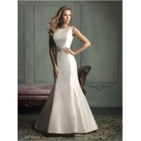 Buy cheap open back Simple Elegant Wedding Dress with Crystal Beaded Belt , Mermaid Halter Dress from wholesalers