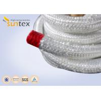 Buy cheap High Temperature Fiberglass Heat Resistant Rope For Insulation Packing Industrial Stoves Door from wholesalers