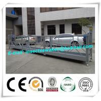 ZLP800 Steel Suspended Worker Platform For Wind Tower Production Manufactures