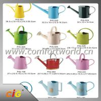 China Metal / Plastic Garden Flower Watering Can 1 - 10L Large Capacity Garden Tool on sale