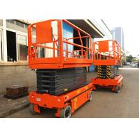 Buy cheap Electronic Driven Scissor Lift Aerial Work Platform Extendable Lift Height 11.8m from wholesalers