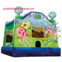 Buy cheap Toddler Inflatable Princess Bouncy Castle With Fire Retardant And Waterproof from wholesalers