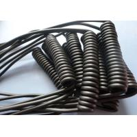 Buy cheap Retractable Spiral Power Cable , 2 Core Coiled Electrical Cord High Flexibility from wholesalers