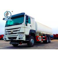Buy cheap 10 Wheels 6x4 20m3 Fuel Liquid Tanker Truck , Oil Tanker Lorry Color Customization Oil Tanker Vehicle from wholesalers