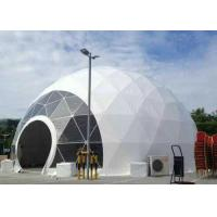 Buy cheap Marquee Greenhouse large geodesic tent 10m Diameter For Fashion Shows from wholesalers