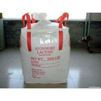 Buy cheap 0.5-1 ton big bags with PE formed liner for good grade prodcts,BRC food grade certificated from wholesalers