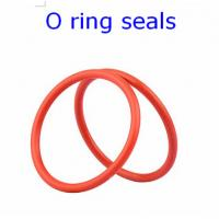 ACM 70 Rubber O Ring Seals For Connector , Colored Orings Wear Resistant