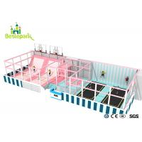 Wholesale Huge Children Indoor Playground Macaron Theme / Toddler Play Equipment from china suppliers