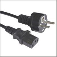 Buy cheap European cord set VDE approval power supply cord with C13 from wholesalers