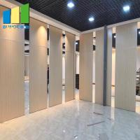 Buy cheap Fire Resistant Movable Acoustic Sliding Partition Walls For Meeting Room from wholesalers