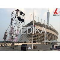 Buy cheap Custom Exhibition Aluminum Layher Scaffolding Truss With Tent And Cover 8m / 10m / 12m from wholesalers