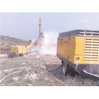 Buy cheap Double Flighted Diesel Engine Air Compressor , Mining Drilling Screw Air Compressor from wholesalers