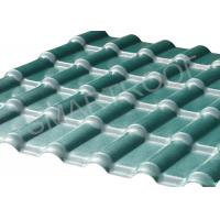 Buy cheap Heatproof Synthetic Resin Roof Tile 0.15 mm ASA Coating , Corrugated Plastic Roofing from wholesalers