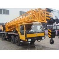 Buy cheap 57.7 Meter Boom Length Hydraulic Truck Crane , 50 Ton Hydraulic Boom Crane from wholesalers