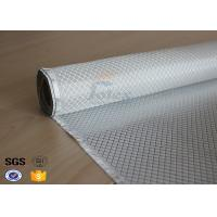 Buy cheap Flame Retardant Fiberglass Fabric Silver Plated Fabric Double Sides 230g from wholesalers