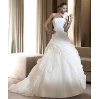 Buy cheap One-Shoulder Chiffon Wedding Dress (Ogt004kn) from wholesalers
