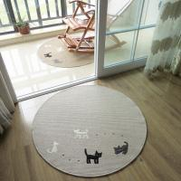 Wholesale Anti-Slip Washable Floor Mat With Cat Logo Floor Covering Carpet From Carpets Factory from china suppliers