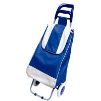 Buy cheap PP Nylon Plastic and Iron Pipe Frame PVC Coating 600D Oxford Shopping Trolley Cart BHT-001 from wholesalers