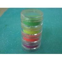 Buy cheap Colorful Neon Fine Glitter Powder For Decorating , Fashion Accessories from wholesalers