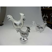 China Ceramic Rooster Tealight Holder (MY11001 -1 -2 WS) on sale