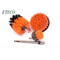 Buy cheap Carpet Cleaning Bristle Brush For Drill White Corrugated Inner Box Packed from wholesalers