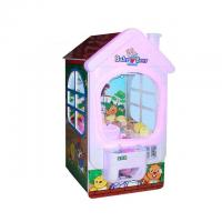 Buy cheap Metal + Plastic Toy Crane Machine / Coin Operated Big Baby Bear Claw Doll Machine from wholesalers