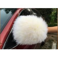 Buy cheap Lint Free Long Wool Dust Cleaning Gloves With Extra Thick Wool Pile 70g from wholesalers
